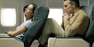 la trombosi in aereo può essere favorita dalla posizione assunta durante il volo