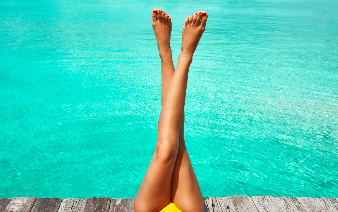 La mesoterapia è utile per drenare le gambe dai liquidi in eccesso